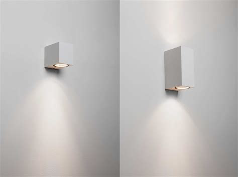 astro chios white external outdoor wall lights up