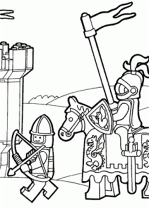 lego duplo knights coloring page  kids printable