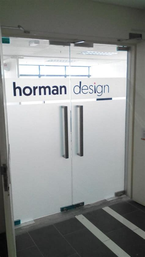 office door signage company  logo
