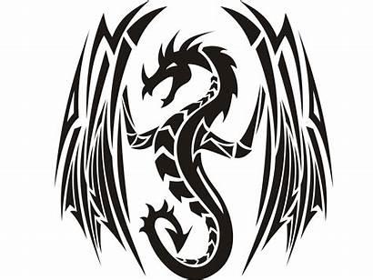 Tribal Dragon Tattoo Designs Tattoos Clipart Simple
