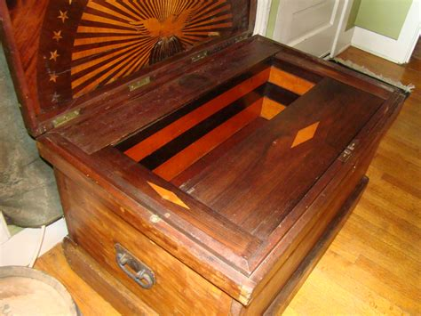 sold cabinet makers tool chest american eagle