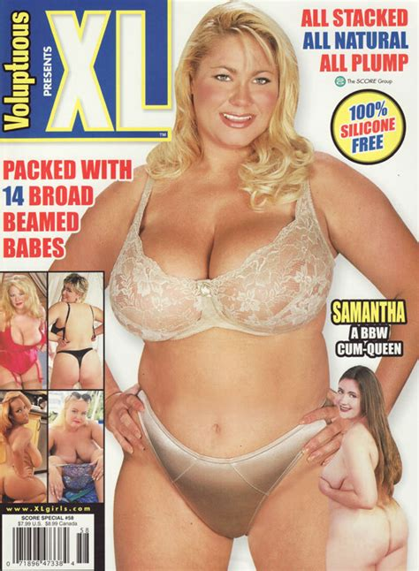 Score Special # 58 - Voluptuous Presents XL Adult Magazine Back Issue Score Special
