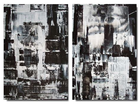 Abstract Black Painting by Black And White Abstract 25 Free Wallpaper