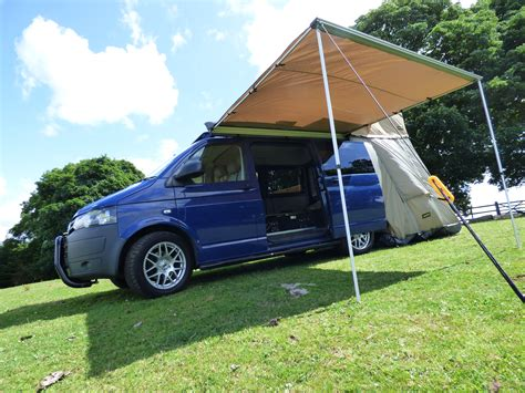 2m X 2.5m Van Pull Out Awning For Heavy Duty Roof Racks