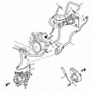 Gm Power Steering Gear Inlet Line  2001