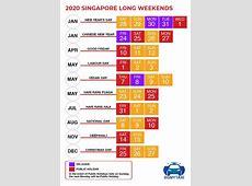 Public & School Holidays Singapore 2019 & 2020 19 Long