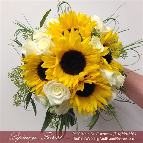 Sunflowers Buffalo Wedding And Event Flowers By Lipinoga