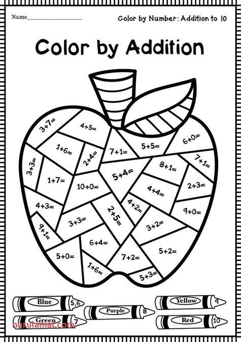 pin  math coloring