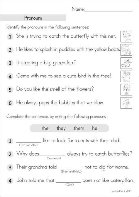 15 best parts of speech worksheets images on pinterest