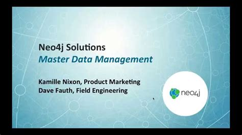 master data management mdm  neoj youtube