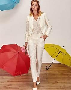veste tailleur blanche de mariee et pantalon tailleur With robe blanche pour mariage