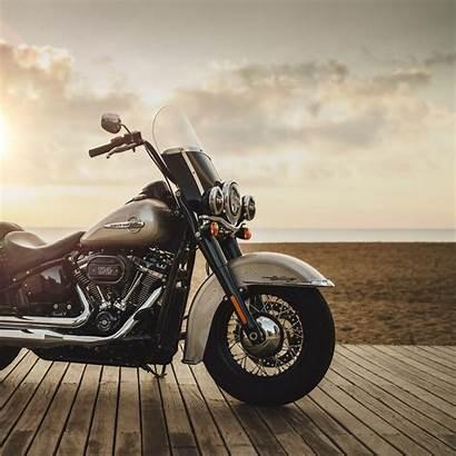 Harley Davidson Bike Motorcycle Horizon Shore Side