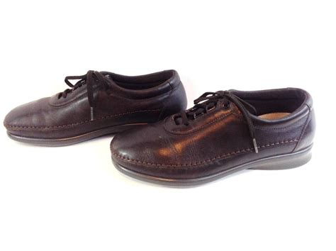 sas comfort shoes sas tripad comfort soft step brown leather lace up oxford