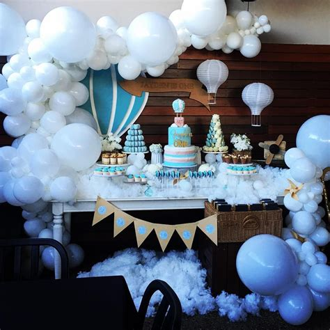 Fluffy White Clouds White Organic Balloon Decorations For