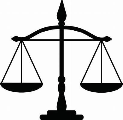Justice Scales Scale Transparent Clipart Silhouette Clip