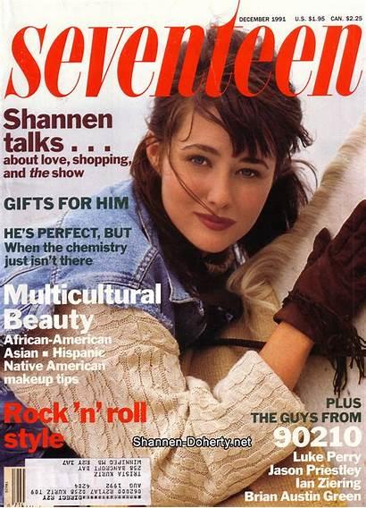 Shannen Magazine Doherty Brenda Fierce Forty Fabulous