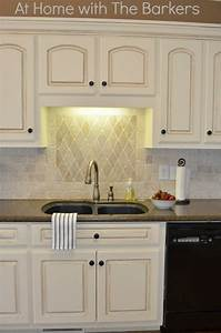 painted kitchen cabinets at home with the barkers With kitchen colors with white cabinets with where to buy inexpensive wall art