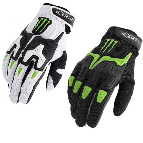alpinestars motocross gloves alpinestars m20 air monster energy motorcycle gloves