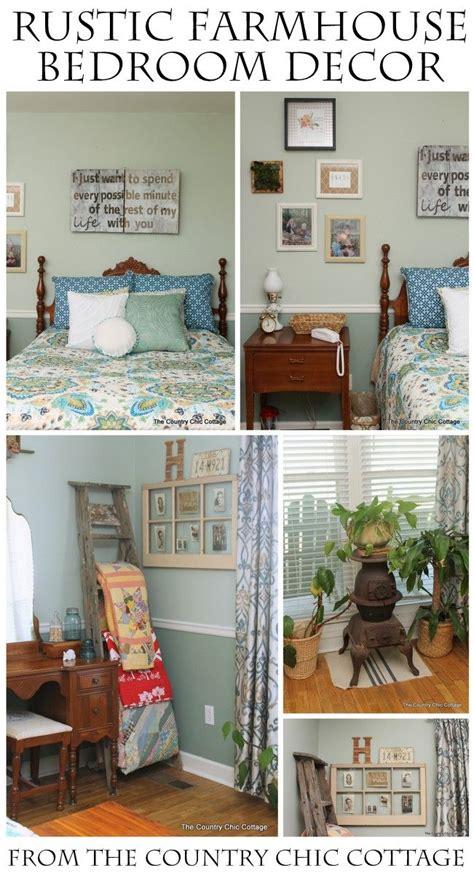 Rustic Farmhouse Bedroom Reveal Quilt Racks Blanket