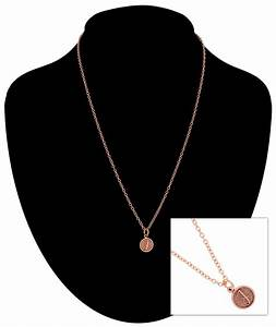 ky co rose gold tone chain cursive initial letter j With rose gold letter j necklace