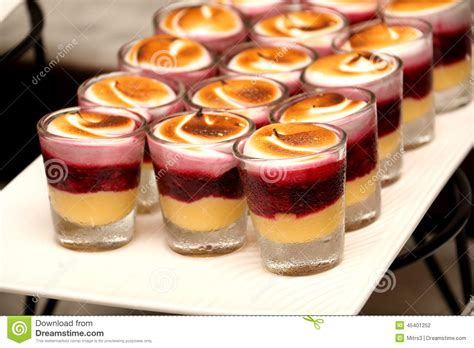 desert in a glass dessert in a glass stock photo image 45401252
