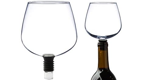 Guzzle Buddy Turns Your Wine Bottles Into Wine Glasses