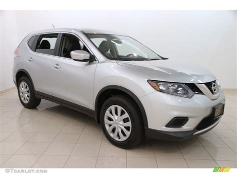 silver nissan rogue 2014 2014 brilliant silver nissan rogue s awd 113197521