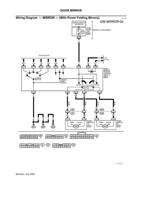 2006 Nissan Maxima Wiring Diagram Window by Repair Guides Glasses Window Systems Mirrors 2005