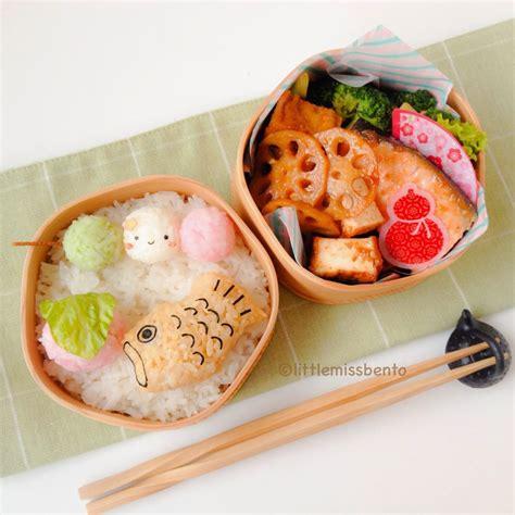 cuisine bento traditional wagashi bento 和菓子のキャラ弁 miss