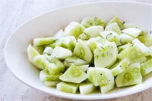 Cucumber Salad Recipe SimplyRecipes com