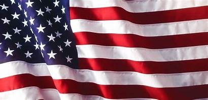 Waving Flag American Background Flags Clipart Honoring