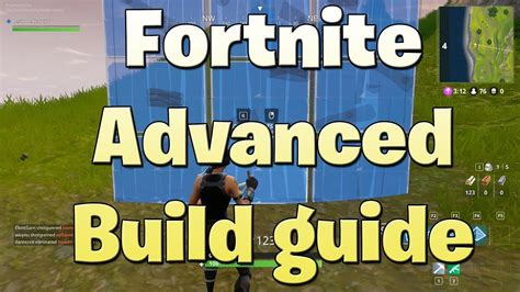 advanced building edits  fortnite battle royale guide