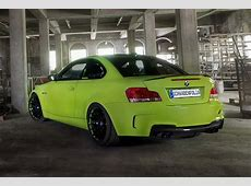 Lime Green BMW 1M Coupe from Schwabenfolia autoevolution