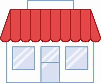 Clipart Clip Building Grocery Transparent Business Rectangle
