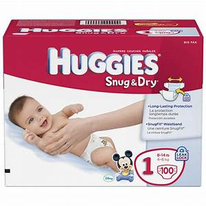 Save $10 on Huggies or Pampers 72-132 Box For More Rewards ...