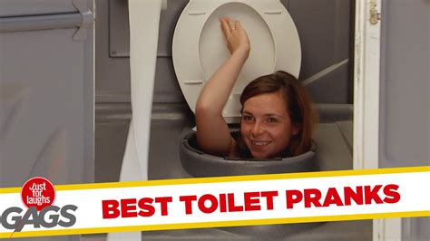 best toilet pranks best of just for laughs gags
