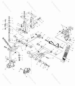 Polaris Atv 2004 Oem Parts Diagram For Rear Suspension
