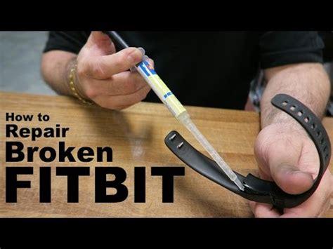 Repair Broken Fitbit Charge Youtube