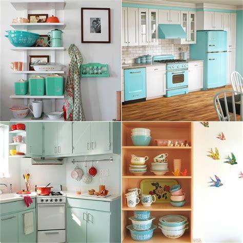 retro kitchen decor ideas pyrex for a retro kitchen dans le lakehouse