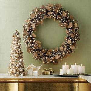 White Silver Gold Decor for Christmas on Pinterest