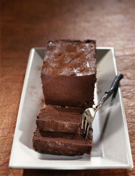 marquise cuisine marquise au chocolat recettes à table