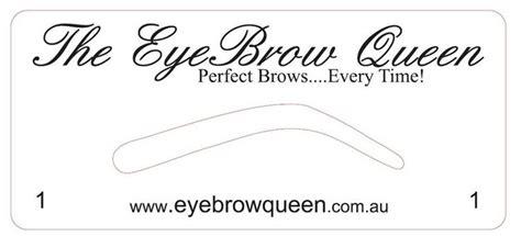 Eyebrow Templates Printable by Eyebrow Templates Printable Invitation Templates