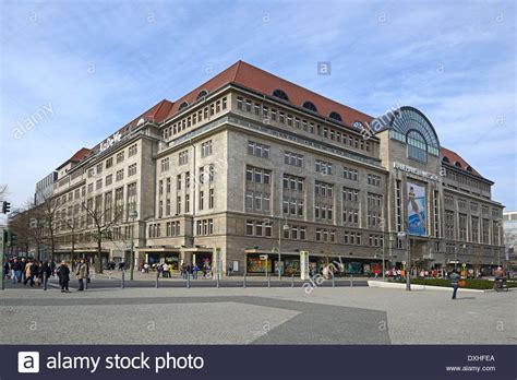 Kadewe Shopping by Kadewe Berlin Stock Photos Kadewe Berlin Stock Images