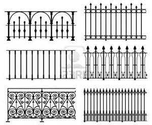 Wrought Iron Fence Clip Art