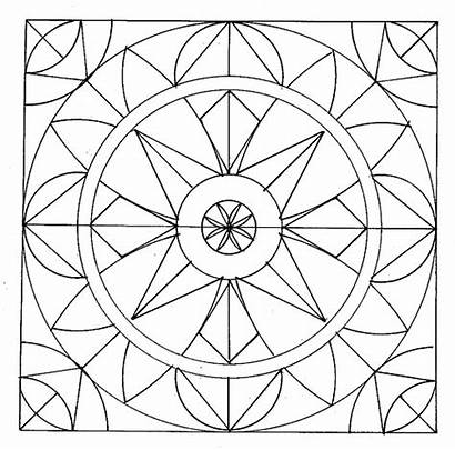 Coloring Geometric Pages