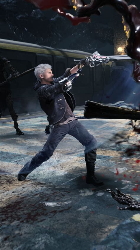 Hd wallpapers and background images. HD Exclusive Devil May Cry 5 Wallpaper Phone - wallpaper