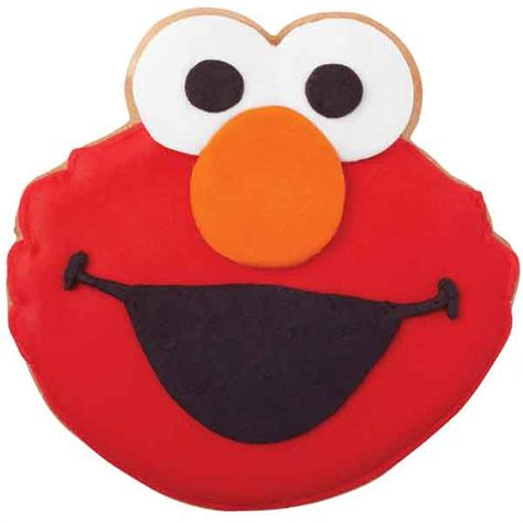 loves elmo cookies wilton