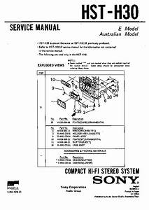 Sony Fh-l300 Service Manual