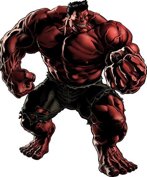 General Thunderbolt Ross/red Hulk