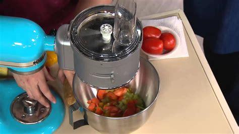 kitchenaid premium food processor stand mixer attachment